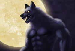 狼男のイラスト